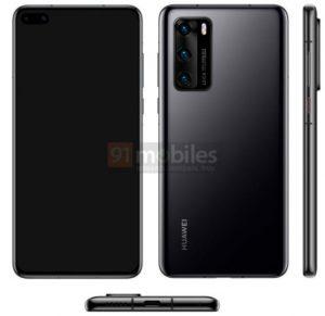 Huawei P40 foto